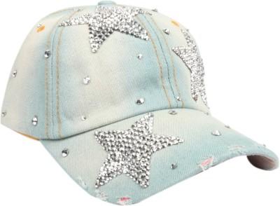 ILU Solid Denim Star, Snapback, baseball, Hip Hop, Trucker, Hat, Caps Cap