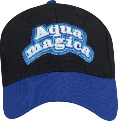 Aquamagica Self Design Aquamagica Logo Cap