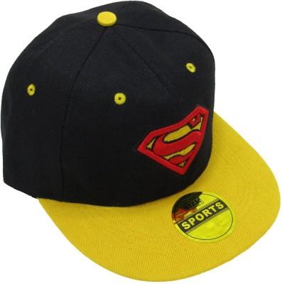 Masti Station Embroidered Hip-Hop Snapback Superman Cap