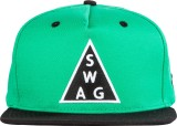 Urban Monkey Solid Green Baseball Cap Ca...