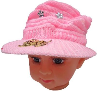 DCS Pink Woolen Cap