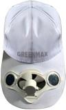 Greenmax Kids Cap (White)