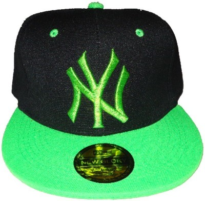 RR Accessories Black And Green Ny Cap