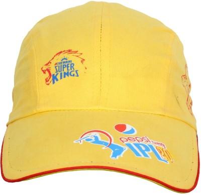 Merchant Eshop IPL Chennai Super King Printed Sports Cap