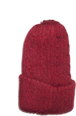 The Modern Knitting Shop Self Design Skull Cap