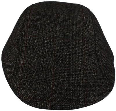 Indian Heritage Checkered Flat Cap
