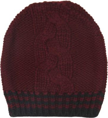 TheGudLook Striped Skull Cap Cap