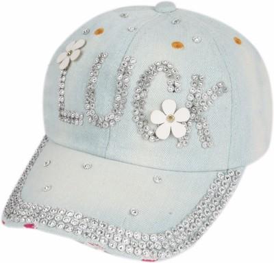 ILU Denim Luck caps blue cotton, Baseball, caps, Hip Hop Caps, men, women, girls, boys, Snapback, Trucker, Hats cotton caps Cap Cap