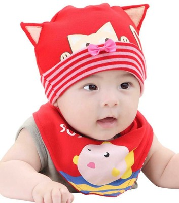 Ihaan Fashion Kids Cap(Red)