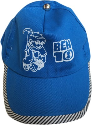 DCS Ben 10 Designe Self Fashion Kids Blue Cap