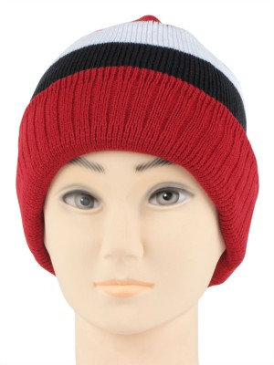 Bonjour Winter Striped Skull Cap