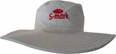 S-Mark Embroidered Cricket Hat Cap
