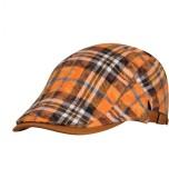 FabSeasons Checkered Flat Golf Cap