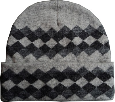 Gajraj Pure Wool Self Design Pure Wool Cap