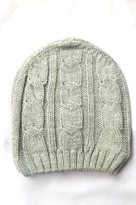 The Modern Knitting Shop SingleKnit Self Design Solid Skull Cap