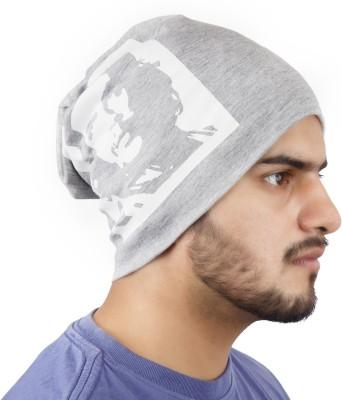Noise Che Guevara Beanie- Grey Printed Skull Cap