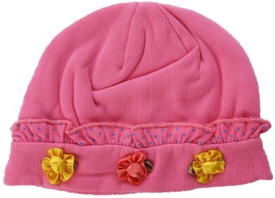 Baby Bucket Floral Print Summer Infant Flowers patch Baby Cap