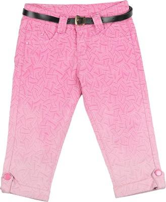 Chrristy Classic Girl's Pink Capri