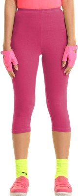 Groversons Fashion Women's Pink Capri