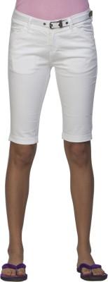Ixia Women's White Capri