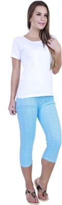 Eshelle Fashion Women,s Blue Capri
