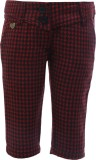 UFO Capri For Girls Houndstooth Wool (Re...