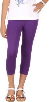 BELONAS Girl's Purple Capri