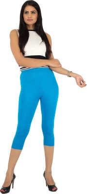 Legrisa Fashion Women's Light Blue Capri