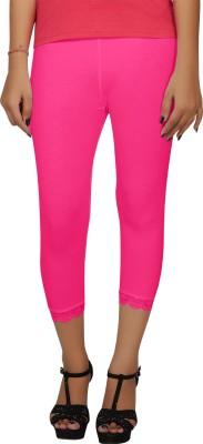 Hbhwear Women's Pink Capri