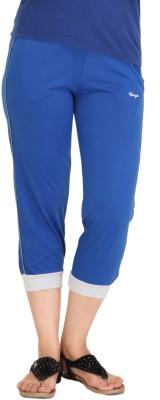 Colors & Blends Cl-101 Royal Women's Blue Capri
