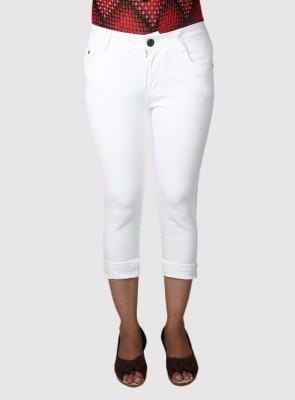 Flirt NX Women's White Capri