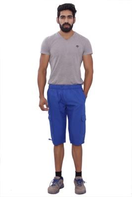 MountainColours Men's Dark Blue Capri