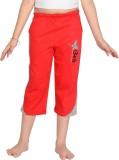 Punkster Capri For Girls Solid Cotton (R...