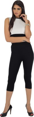Legrisa Fashion Women's Black Capri