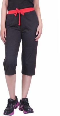 DFH Women's Black Capri
