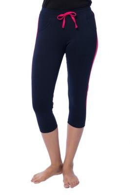 Nite Flite Athletic Indigo Women's Dark Blue, Pink Capri