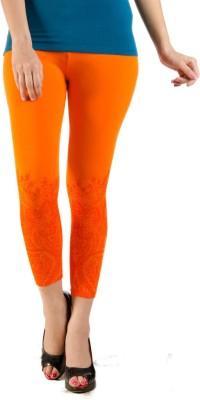 De Moza Tone on Tone Women's Orange Capri