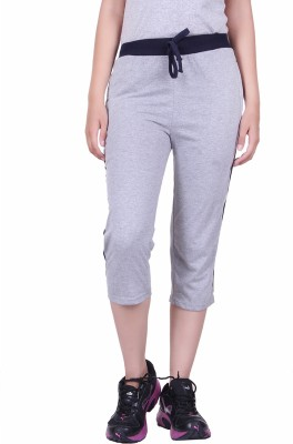 DFH Women's Grey Capri