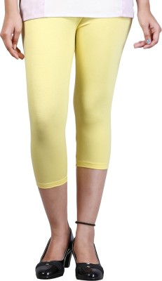 Zycra Women's Yellow Capri