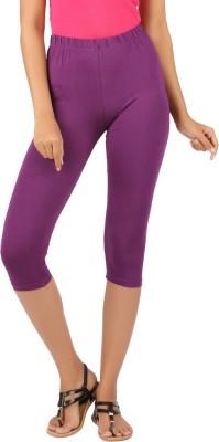 Newrie Capri Women's Purple Capri