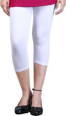 Zycra Women's White Capri