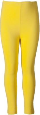 Naughty Ninos Girl's Yellow Capri