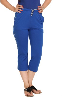 Colors & Blends Cl-102 Royal Women's Blue Capri at flipkart