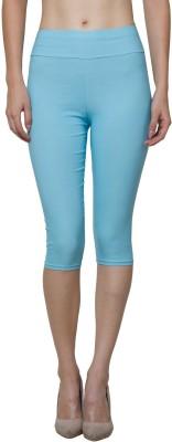 Both11 Fashion Women's Blue Capri