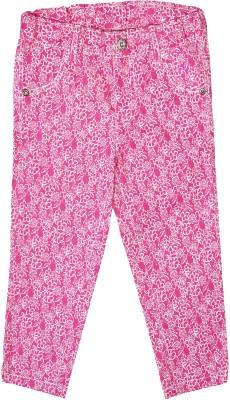 Caca Cina Girls Pink Capri
