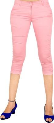 Indiegirl Women's Pink Capri