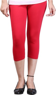 Zycra Women's Red Capri