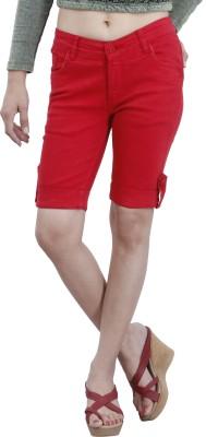 Devis Women's Red Capri
