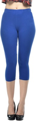 Frenchtrendz Fashion Women,s Dark Blue Capri