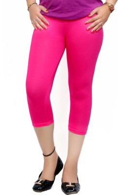 By The Way Fashion Women,s Pink Capri